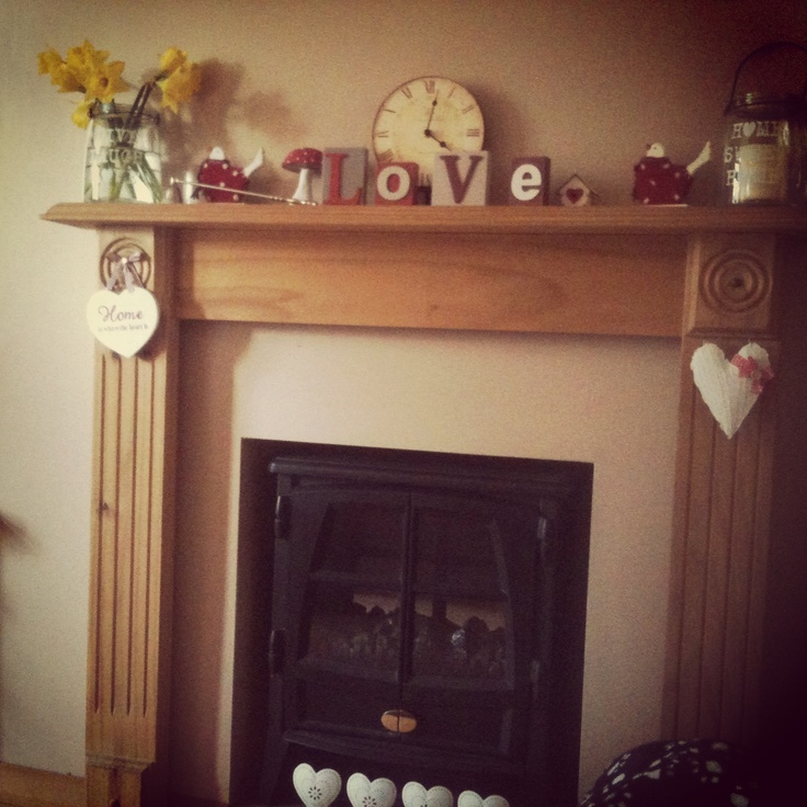 My fireplace...just wish it was a real log burner!