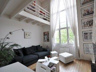 Artist studio luxury design duplex loft 50m2 for Design apartment 50m2