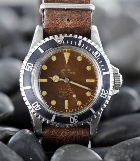 Tudor 7598 with gilt dial