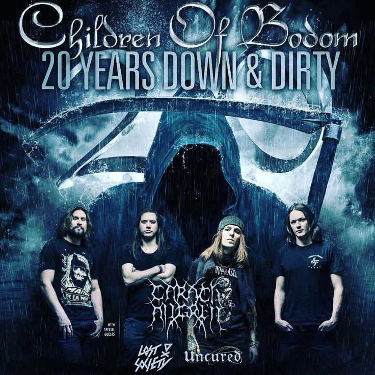 Children of Bodom the melodic power filled death metal quartet are coming to #GML on Halloween Night! Score $10 early bird tickets today if you are one of the fast few to get them before they sell out! Check GMBG.com for more details!  #dallas #concert #halloween #death #metal #grimreaper #grim