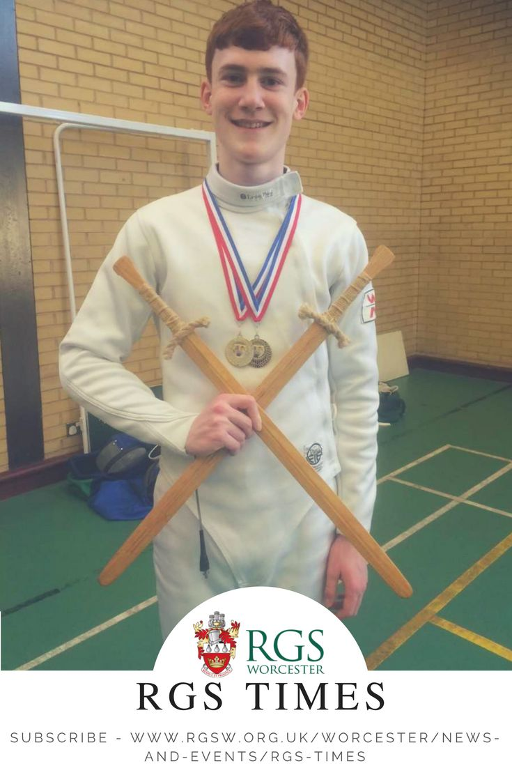 #RGSWorcester would like to congratulate the following pupils on their recent sporting success in both fencing and swimming. To read more about this story please visit the news section on our website #worcesterisgreen #fencing #swimming