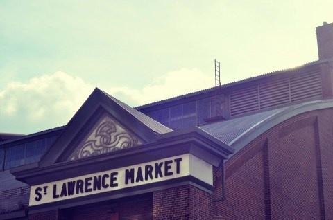 st. lawrence market, toronto, lark + linen, photography