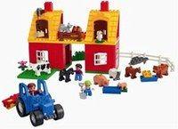 La ferme de Lego-Duplo - Cadeaux de Noël - Ferme Duplo avec ses animaux, pour construire et jouer aux lego tout petit. La ferme de Lego-Duplo : 30 €