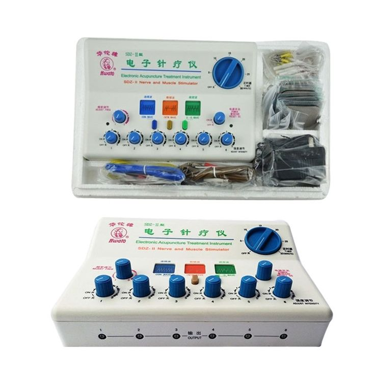 68.90$  Buy here - http://aibjg.worlditems.win/all/product.php?id=32681389937 - Hwato Nerve/ Muscle Stimulator SDZ-II electronic acupuncture massage pulse excite instrument one set