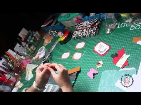 etiquetas y pestañas envelope punch board - YouTube