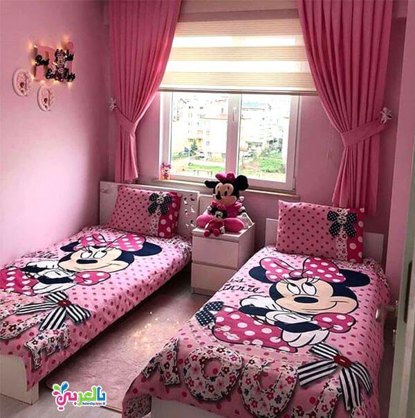 اجمل غرف نوم اطفال بتصاميم شخصيات كرتونية 2020 بالعربي نتعلم Childrens Bedrooms Design Bedroom Design Girl Bedroom Designs