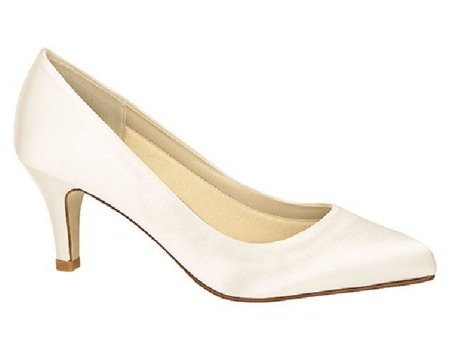 rainbow club Lottie satijnen pump €129.95