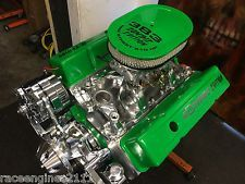 383 STROKER MOTOR 510HP ROLLER TURN KEY PRO STREET CHEVY CRATE ENGINE ZOMBIE 383
