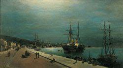 Το λιμάνι του Βόλου.Πινακοθήκη Ε.Αβέρωφ