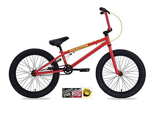 """Product review for EASTERN LOWDOWN BMX BIKE 2017 BICYCLE RED - The Lowdown is built for beginner riders just getting into BMX The Lowdown's hi-tensile steel frame is super durable and with sealed bearing hubs, 25/9 micro gearing, Eastern grips and seat you be feeling like a pro.       Famous Words of Inspiration...""""Every man is a..."""