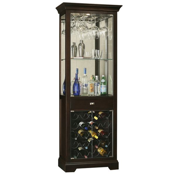 howard miller gimlet wine u0026 bar cabinet