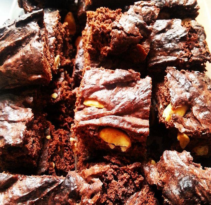 Plantaardig zonder banaan: Brownies, just brownies