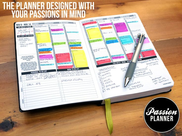 probably one of the coolest & best organized planners i have seen. goals, to dos, action plans and more. | passion planner