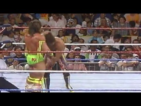 WWF SummerSlam 1989 -The Ultimate Warrior vs Rick Rude / Bobby Heenan (2/2) - YouTube