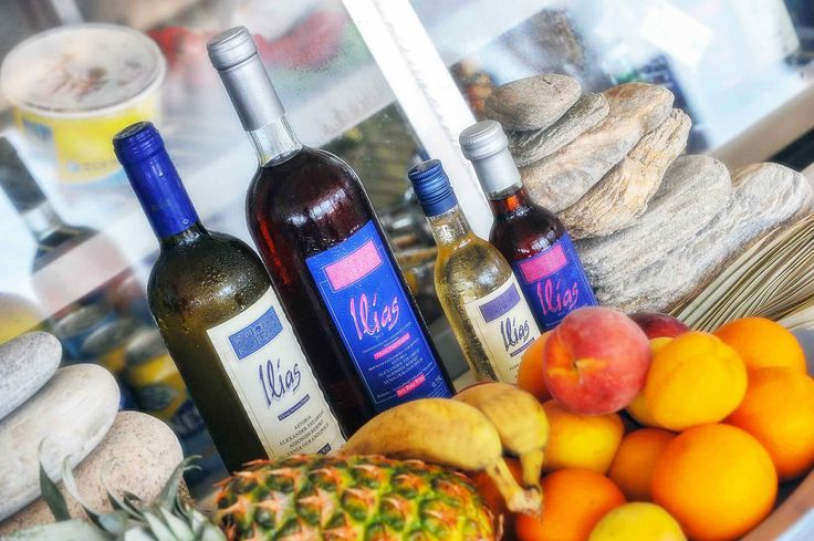 Ilias homemade wine by P.A.P Corp. goes perfectly with fresh seasonal fruit!