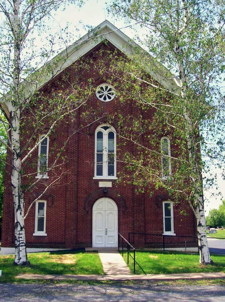 Upper Milford Mennonite Church, Zionsville, Indiana, founded ca ...