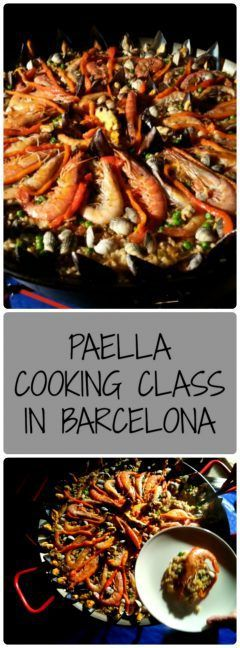 Paella Cooking Class in Barcelona: what better way to sample the local Catalan cuisine than cook a paella in home of a local?  Eatwith Marta and learn an awesome paella recipe!