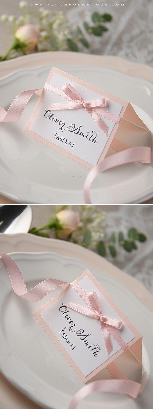 Best 25+ Wedding place cards ideas on Pinterest