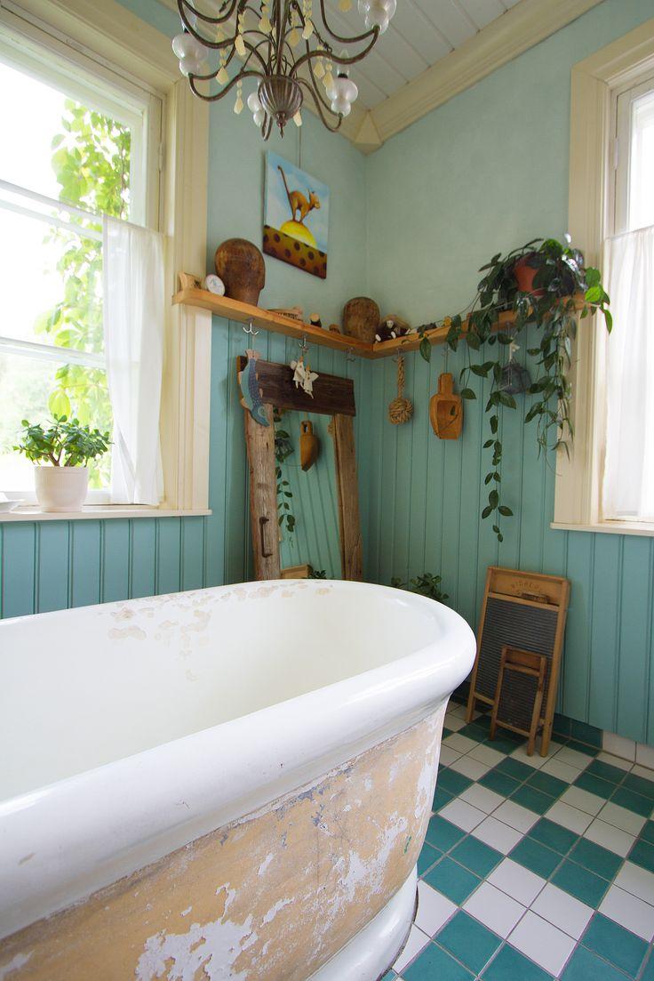 Bathroom at Strandhagen.