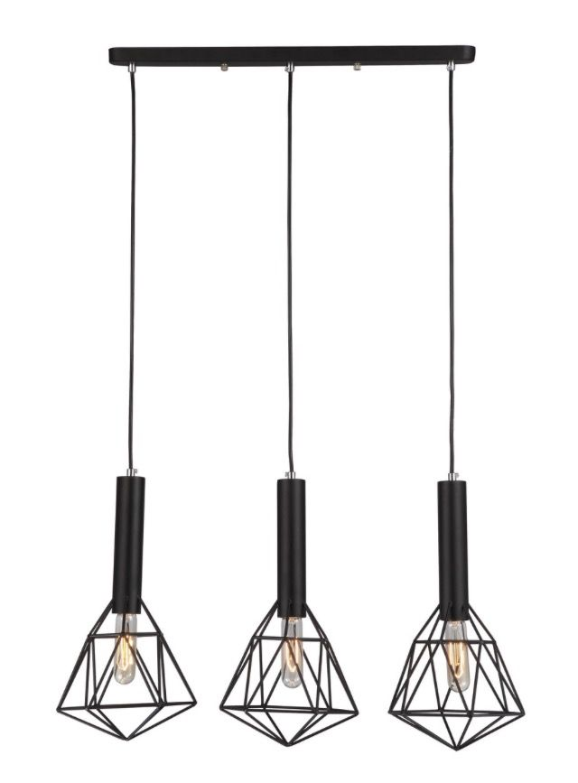 Now available at Home Lighting Hub 3 Bar Iron Cage P... visit us now for more http://www.homelightinghub.com.au/products/3-bar-iron-cage-pendant?utm_campaign=social_autopilot&utm_source=pin&utm_medium=pin