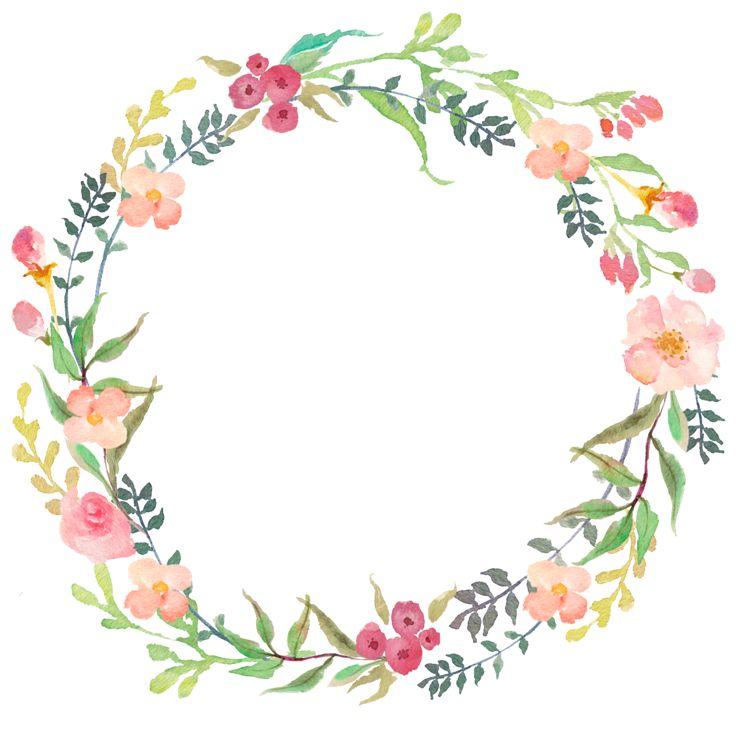예쁜 꽃 그림, 수채화 Y 생일 축하 카드