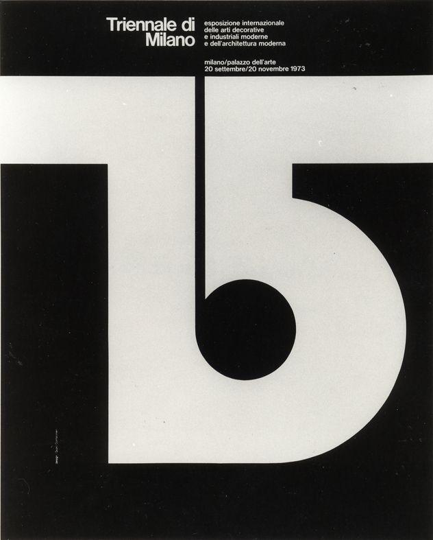 XV Triennale di Milano, 1973