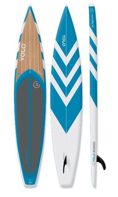 "2013 YOLO Predator Wide 12'6"" - Blue Razor"