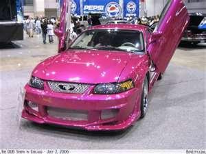 Pink Mustang w/ Lanbo-doors