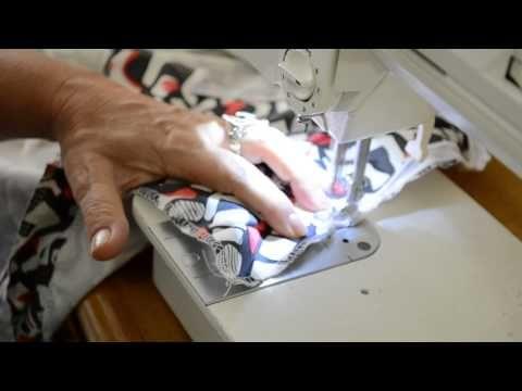 molde, corte e costura : Vídeo Aula 17 – Colocando Zíper invisível