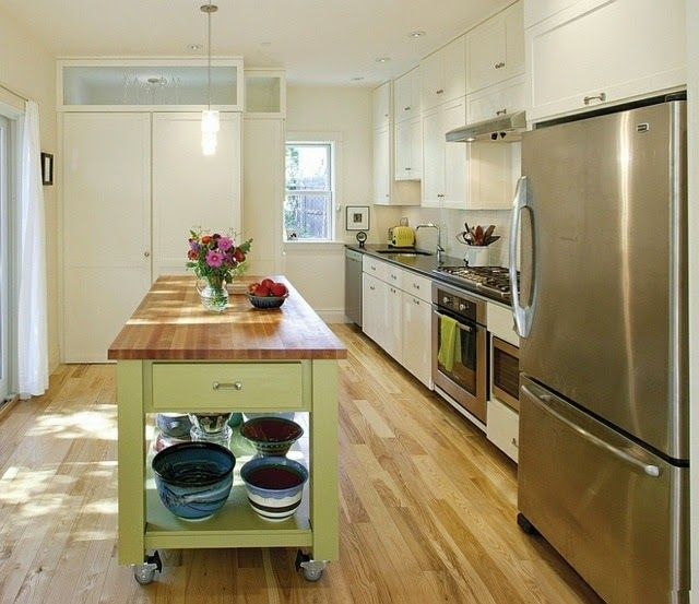 Best 25+ Mobile Kitchen Island Ideas On Pinterest | Kitchen Island