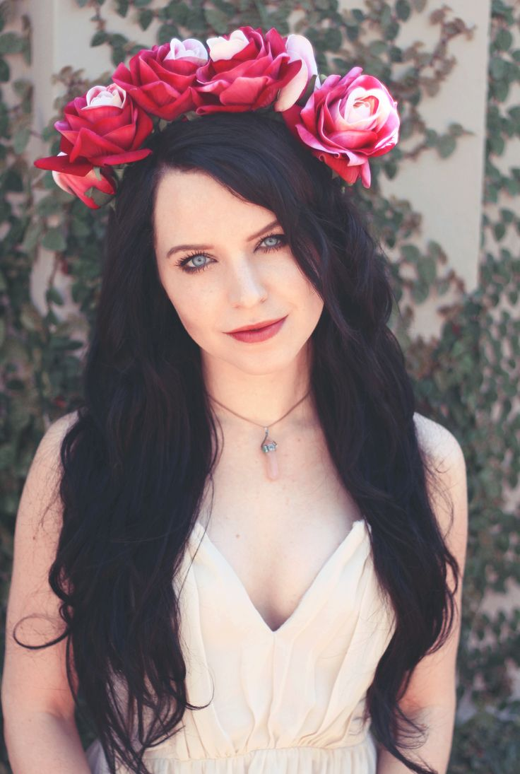 Handmade Rose Flower Crowns By Call A Cab & Take It Slow. Liesl Ahlers