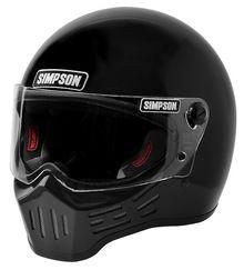 Simpson Helmets - M30 DOT Approved Helmet - Gloss Black