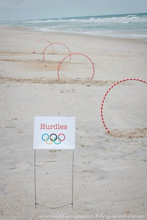 Five Olympic crafts and games for kids