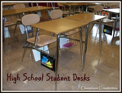 Classroom Creativities: How I Organize My Students' Desks A high school Spanish teacher shares what materials she keeps within arms reach for her students.