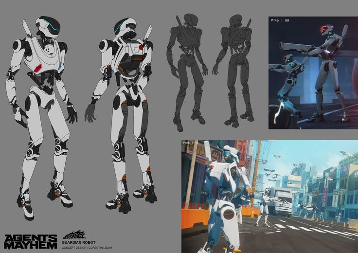 ArtStation - AGENT OF MAYHEM, CORENTIN LEJAM