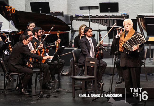 Daniel Binelli, Teatro Municipal Temuco, 2016