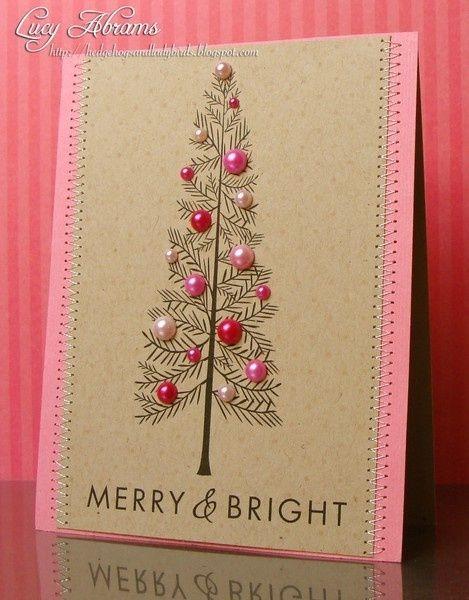 Christmas card by lorraine