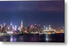 New York City Skyline by Zina Zinchik