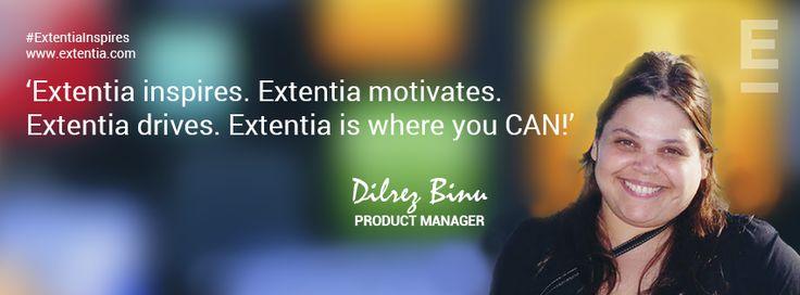 Do More. Be More. Extentia helps you to achieve yourself! www.extentia.com
