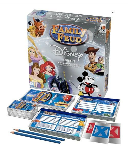 Disney Family Feud Game--so fun for game night!