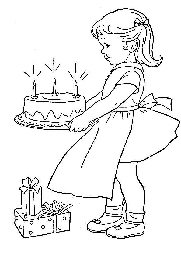 Мужчине летием, нарисовать открытку с днем рождения для девочек