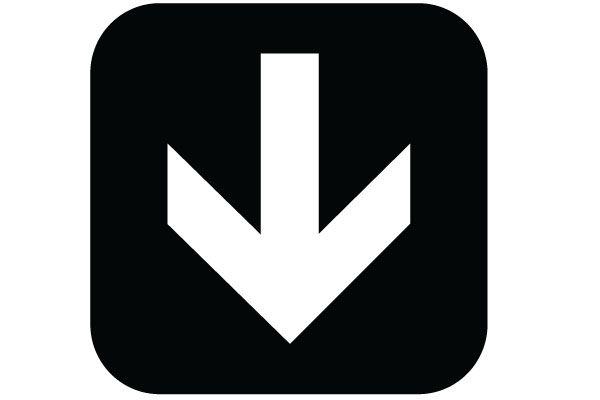 Printable Down Arrow Sign Download PDF of Down Arrow Symbol Free