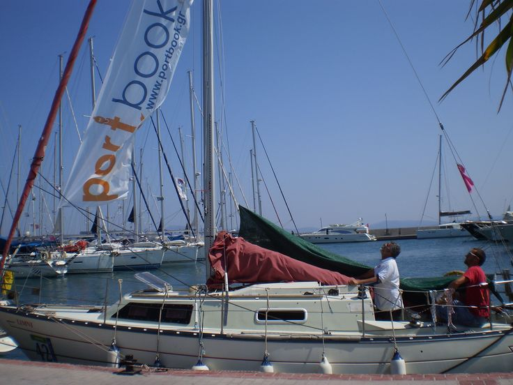 portbook colors in Aegena Regatta 2014