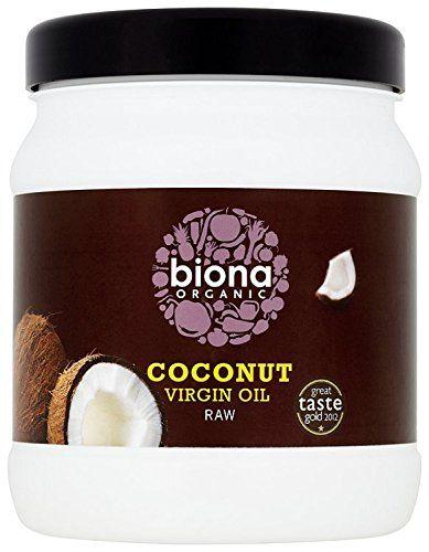 Biona Organic Raw Virgin Coconut Oil 800 g: Amazon.co.uk: Grocery