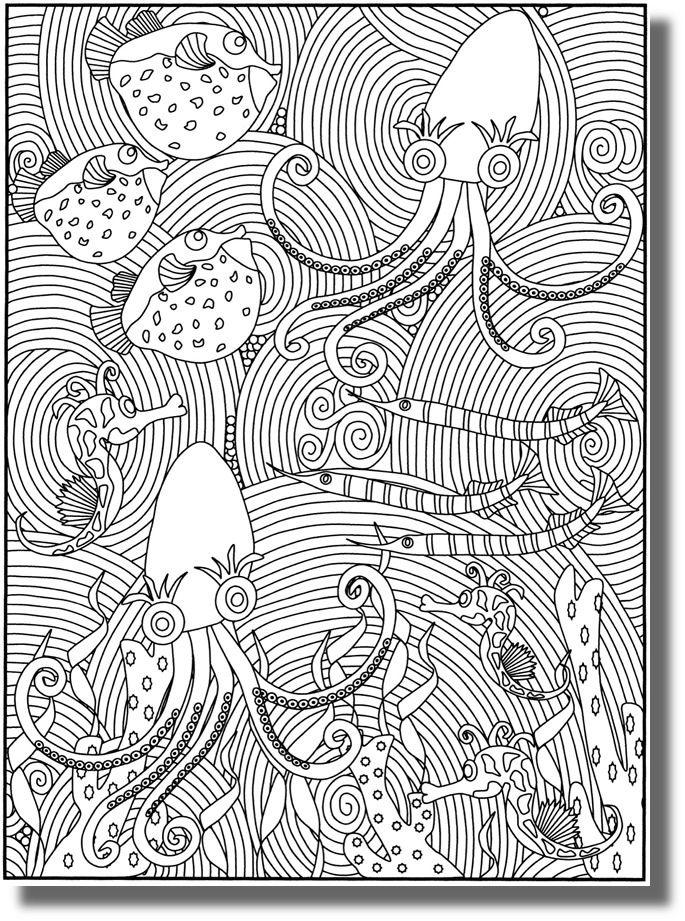 Poissons d 39 avril colorier jeux imprimer pinterest for Poisson rouge vacances nourriture