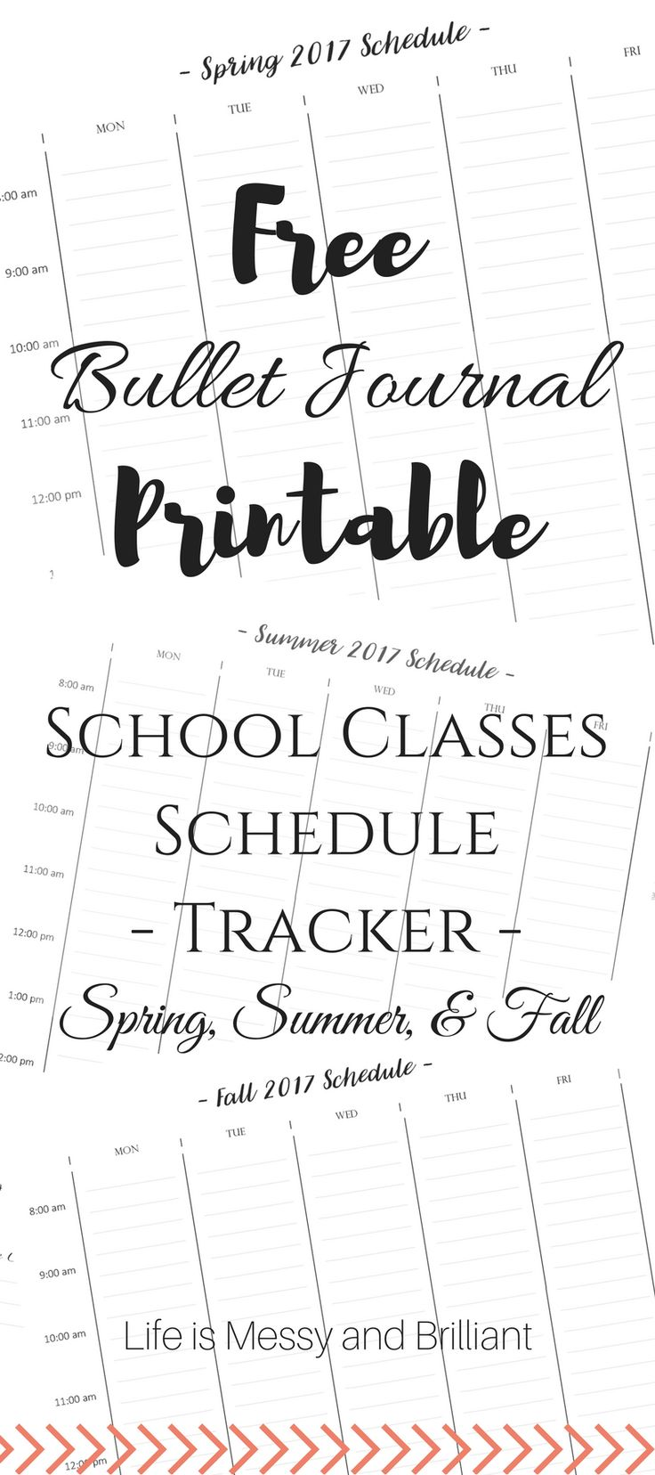 Are you ready for new school semester? My classes start on Monday and