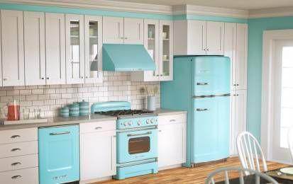 Cucine vintage Anni '50: modelli e stili per una casa retrò - Vi presentiamo le cucine vintage Anni '50, tutte le composizioni imperdibili per una casa dallo stile retrò!