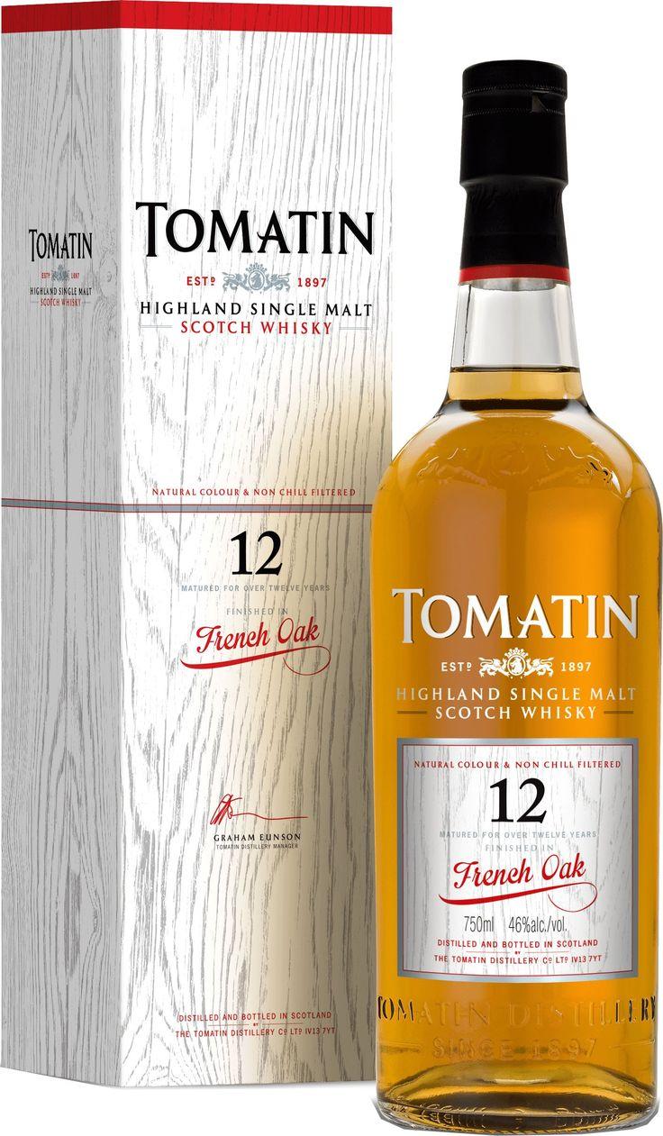 Tomatin 12 Year Old French Oak Single Malt Scotch Whisky   @Caskers