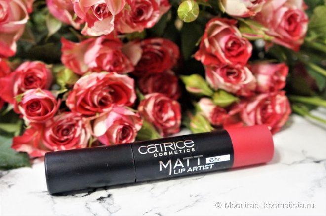 Помада-карандаш для губ Catrice Matte Lip Artist 6 hr №040 HibisKiss-Proof