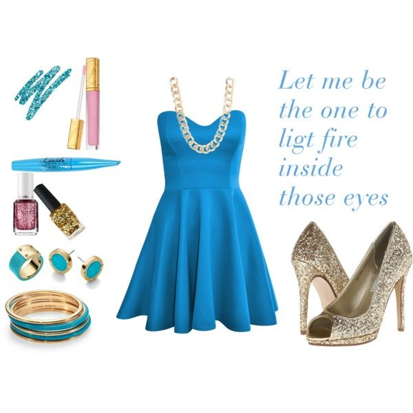 """Party gold"" by krisly-222 on Polyvore"